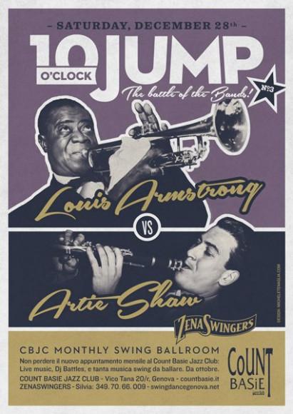 10 o'Clock Jump 3 - Vintage poster