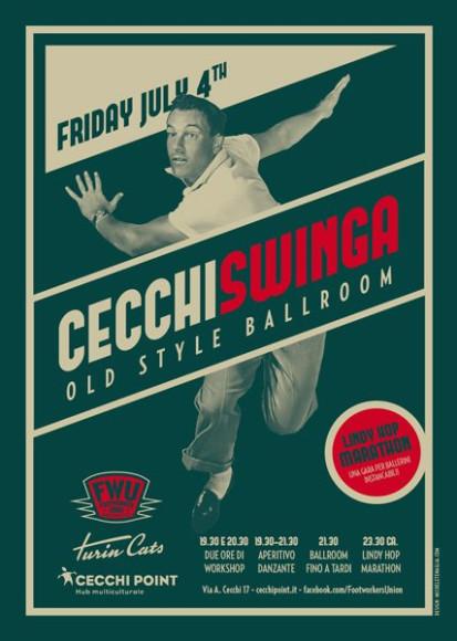 CecchiSwinga - Vintage Poster