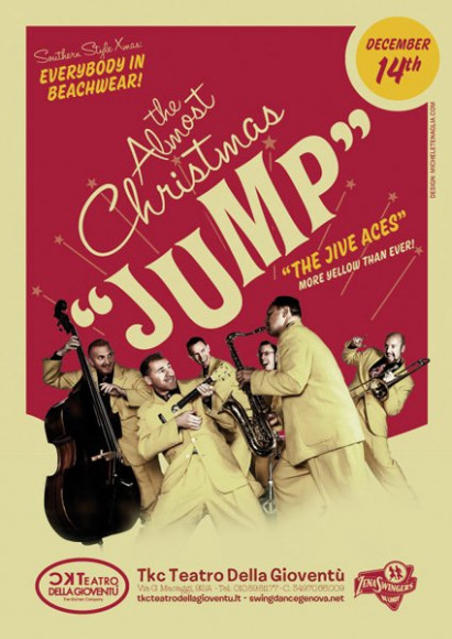 The Jive Aces - Vintage poster
