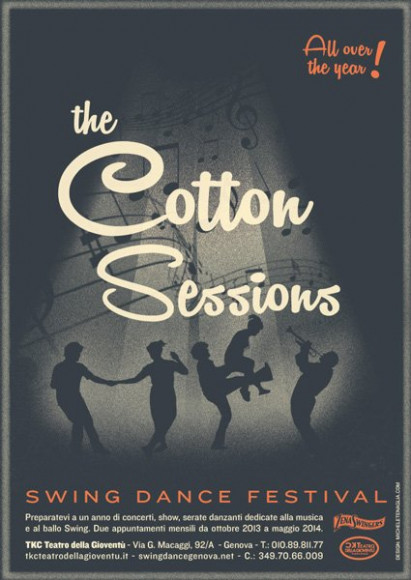 The Cotton Sessions - Vintage poster