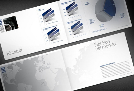 Fiat Spa Annual Report - Grafica pagine