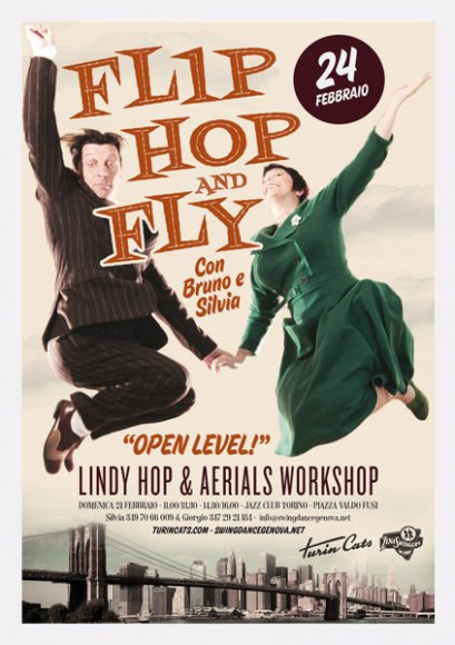 Flip Hop and Fly - Vintage poster