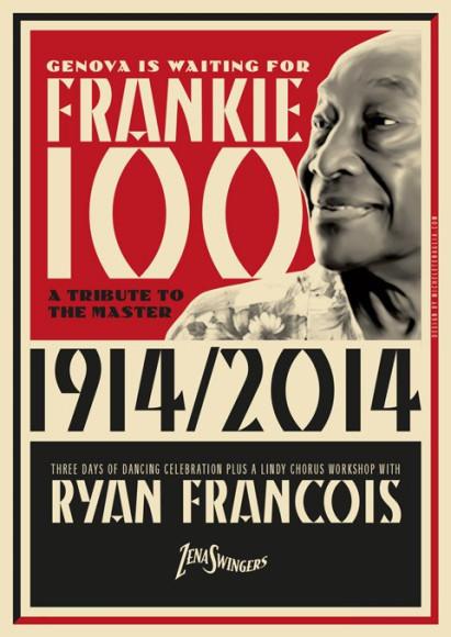Frankie 100 - Vintage poster