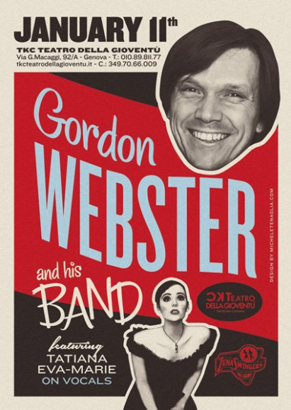 Gordon Webster - Vintage poster