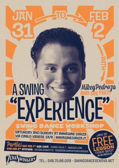 Mikey Pedroza - Vintage poster