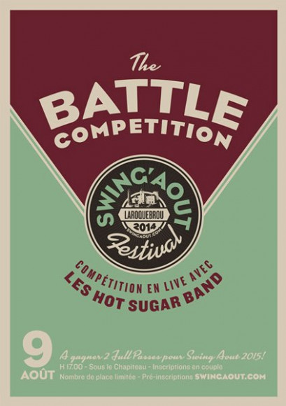 SwingAôut - Poster Contest
