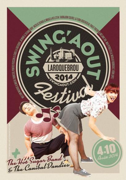 SwingAôut - Poster