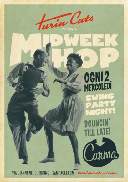 Turincats - Poster Midweek Hop