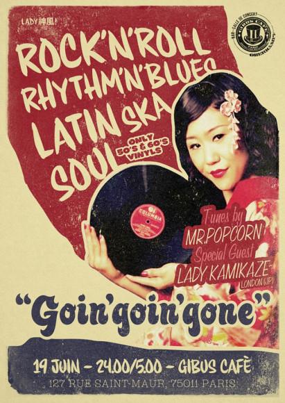 Goin Goin Gone - Lady Kamikaze & Mr. Popcorn in Paris