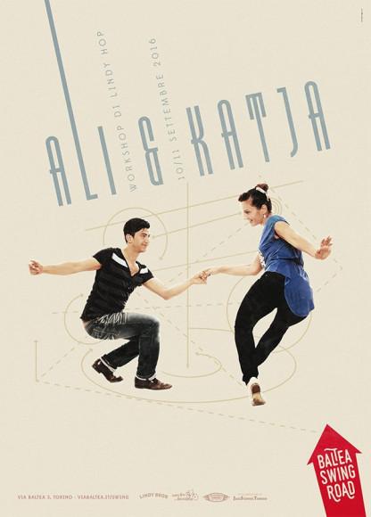 Poster for workshop with Ali & Katja