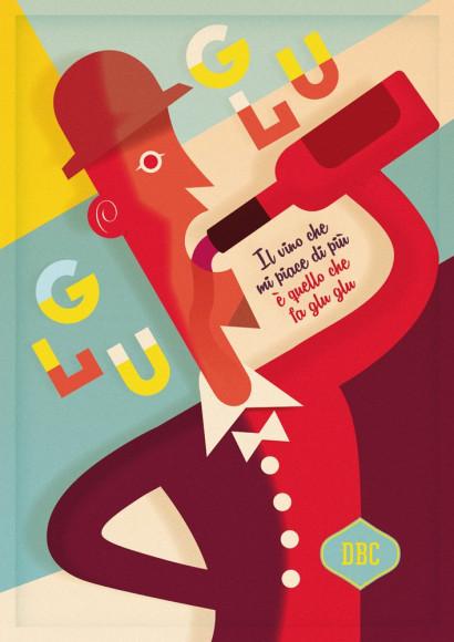 "Poster ""Natural wines"" - Drogheria Buonconsiglio"