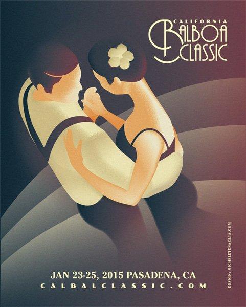 California Balboa Classic 2014 - Vintage Poster