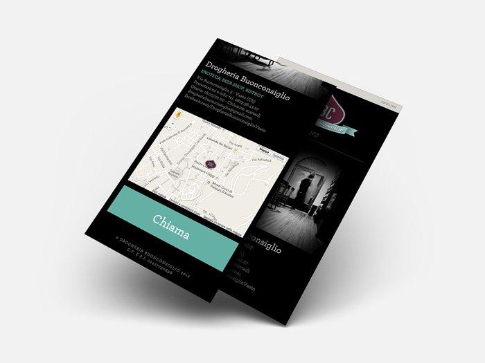 Drogheria Buonconsiglio - Responsive Web Design
