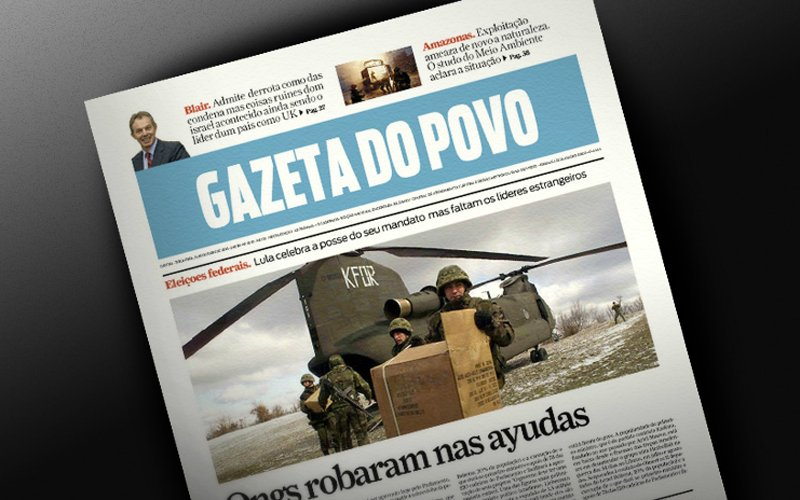 Gazeta do Povo - Grafica cover