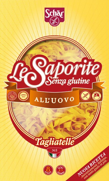 Schäer Le Saporite - Packaging for gluten free pasta