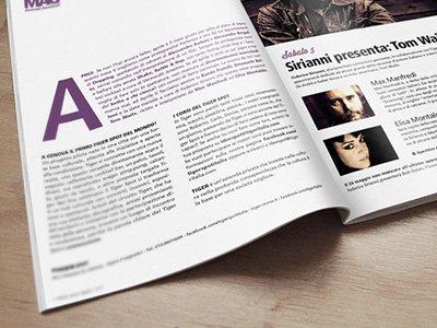 Tiger Spot Mag - Grafica magazine