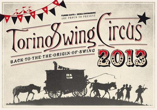 Torino Swing Festival 2013 - Proposta di grafica 1