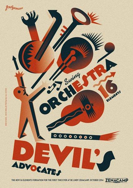 Vintage poster - Devil's Advocates