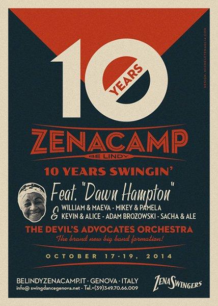 Vintage poster - Zenacamp