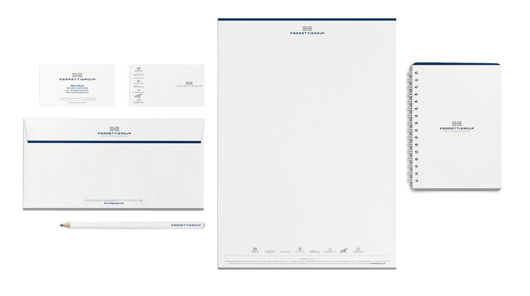 Ferretti Group Stationery