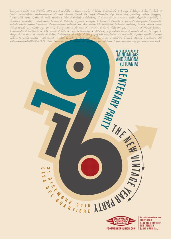 vintage poster michele tenaglia design