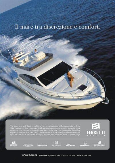 Format dealer - Ferretti Yacht