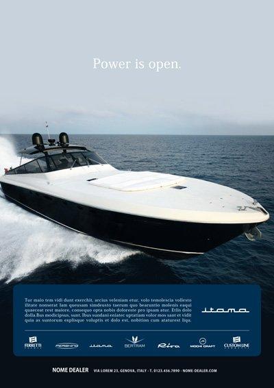Format dealer - Itama Yacht