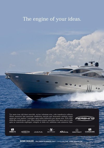 Format dealer - Pershing Yacht