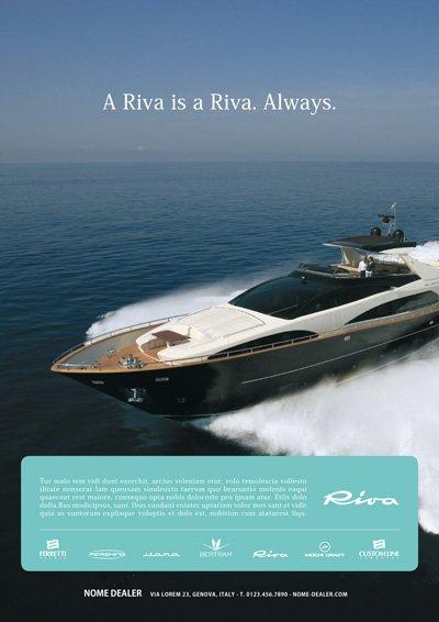 Format dealer - Riva Yacht