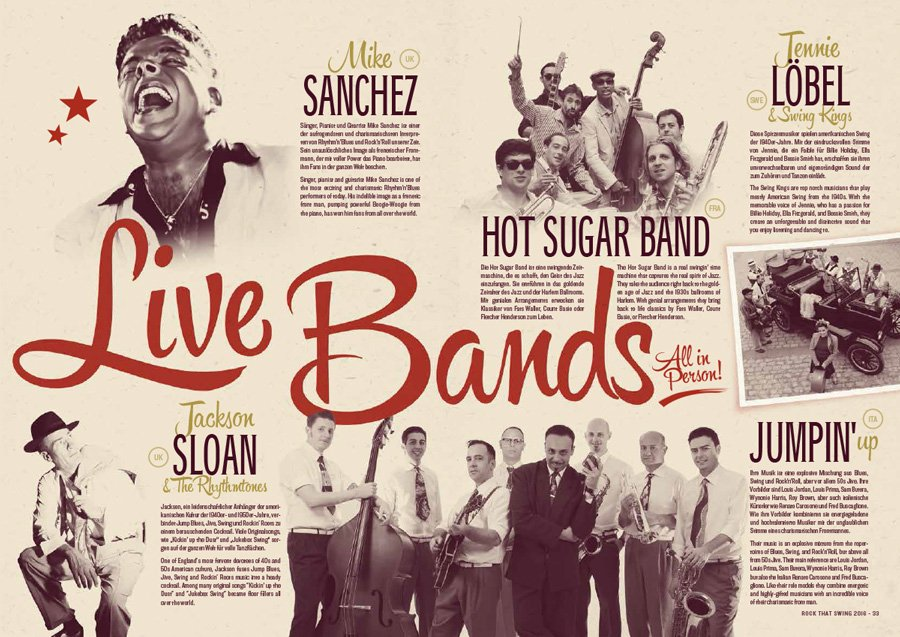 Rock That Swing 2016 - Live bands
