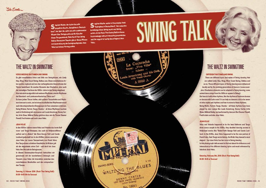 Rock That Swing 2016 - Swing Talk