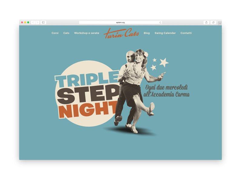 Turincats - Web design