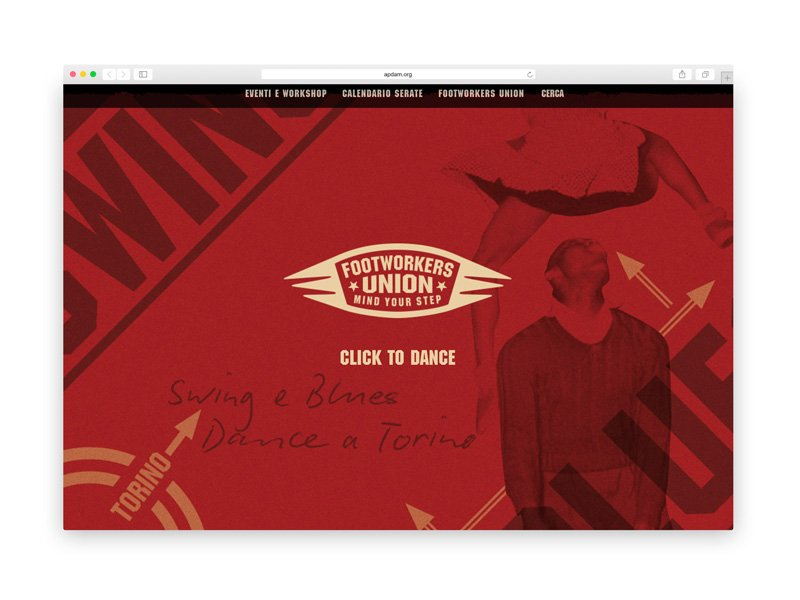 Footworkers Union - Web design