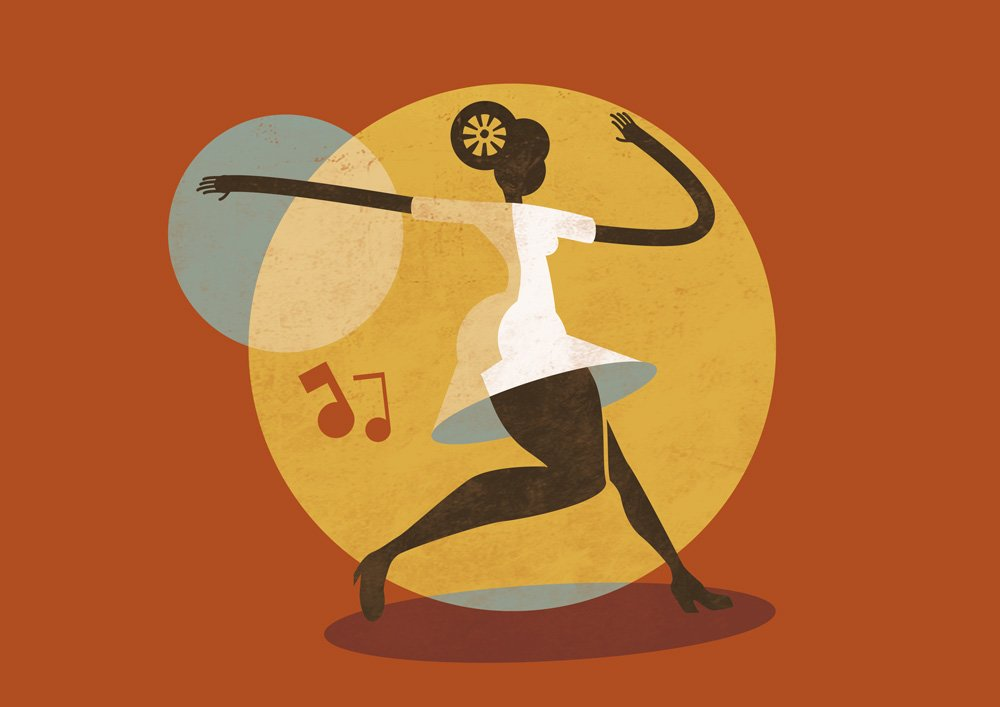 Feel Good Swing - Illustration - Jazz Roots