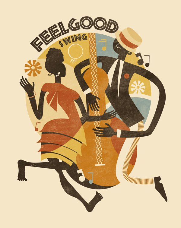 Feel Good Swing - Illustrazione - Key Visual