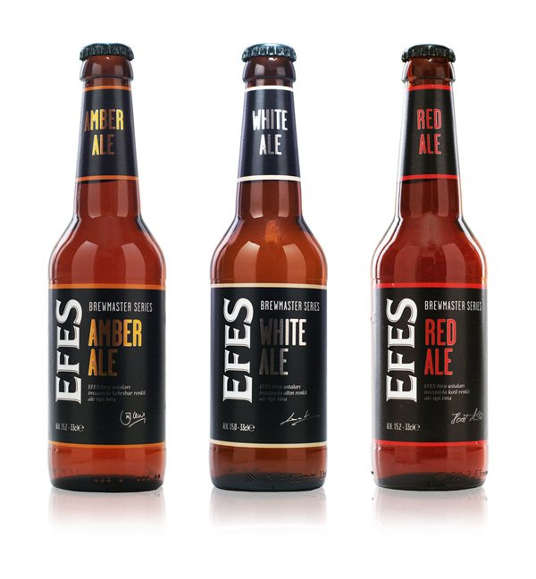 Efes Brewmasters Series - Beer packaging