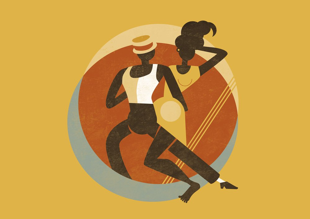 Feel Good Swing - Illustration - Slow Drag