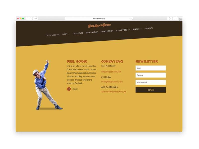 Feel Good Swing - Website